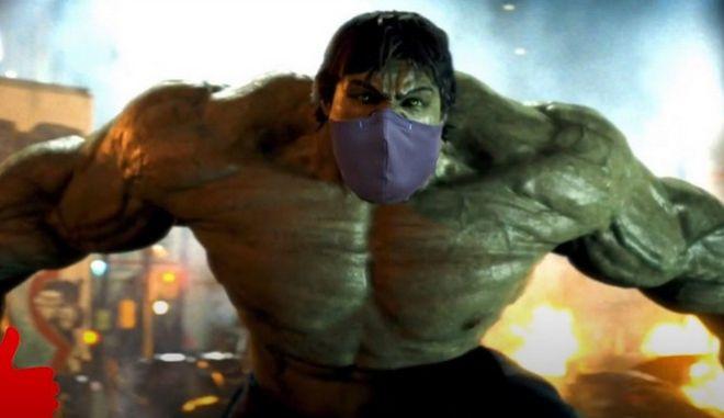 """Σποτ της ΚΝΕ για μάσκες στα σχολεία - """"Δεν μας σώζουν ούτε οι avengers"""""""
