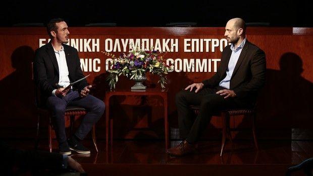 Ο Ολυμπιονίκης της ιστιοπλοΐας, Παύλος Καγιαλής συνομίλησε με τον Πάνο Μπόλλα (Brand, Marketing Communication and Sponsorship Director του ΟΠΑΠ)