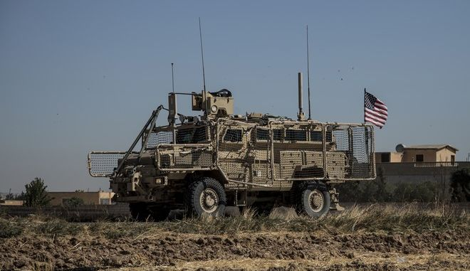 Αμερικανικό στρατιωτικό όχημα στη Συρία