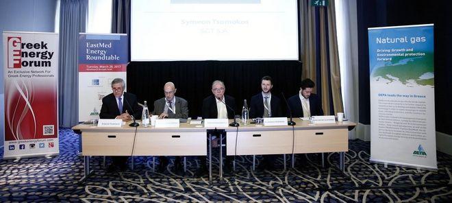 Παπαδημούλης στο 'EastMed Energy Roundtable Briefing': Αξιόλογες οι προοπτικές της Ελλάδας στην ενέργεια