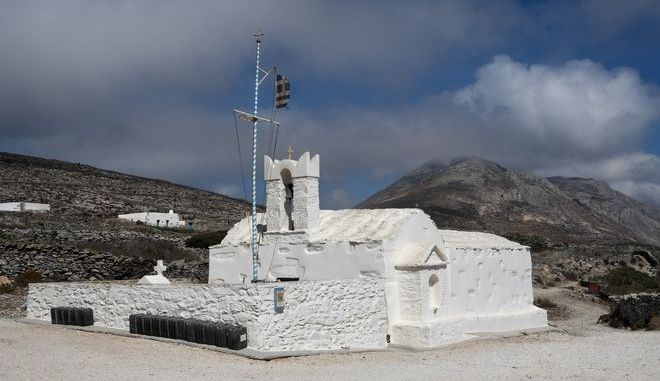Εκκλησία στην Αμοργό