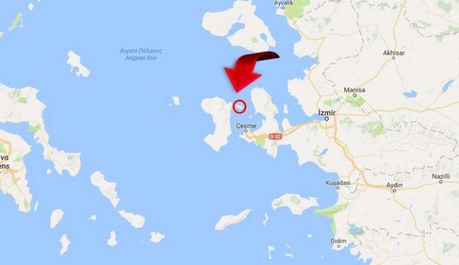 'Τουρκικό νησί οι Οινούσσες' λένε τώρα οι Τούρκοι