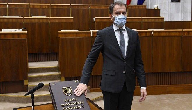 Ο πρωθυπουργός της Σλοβακίας
