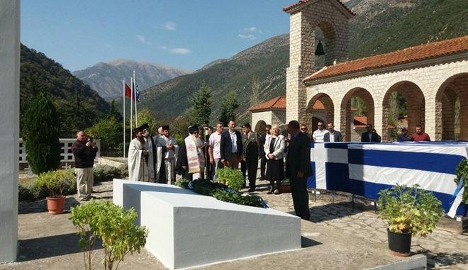 Ενταφιάστηκαν στην Κλεισούρα οι 573 νεκροί του ελληνοϊταλικού πολέμου