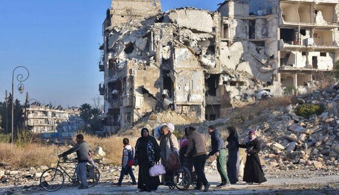 Βίντεο από drone δείχνει το μέγεθος της καταστροφής στο Χαλέπι