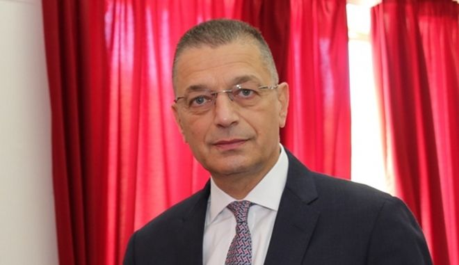 Ο Υφυπουργός Εθνικής Άμυνας Αλκιβιάδης Στεφανής