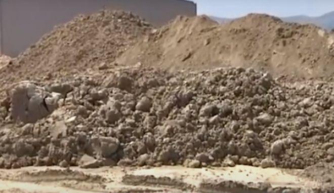 Λάρισα: Νεκρός εργάτης - Καταπλακώθηκε από όγκο χωμάτων