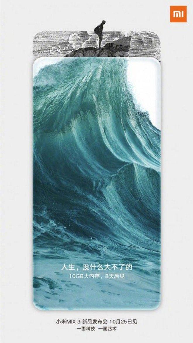 Xiaomi Mi Mix 3: Επίσημη επιβεβαίωση για 10GB RAM και υποστήριξη 5G
