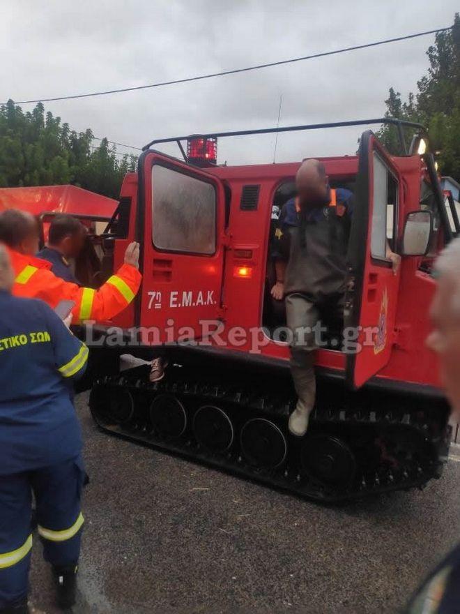 Φθιώτιδα: Εργαζόμενοι στον ΟΣΕ απεγκλωβίστηκαν από σήραγγα
