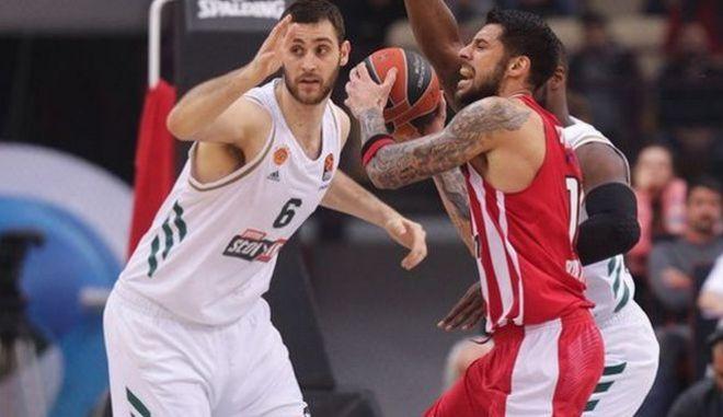 """Παναθηναϊκός-Ολυμπιακός: Στη 2η αγωνιστική το ντέρμπι """"αιωνίων"""" στη EuroLeague"""