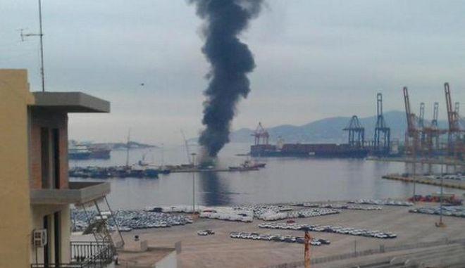 Ένας νεκρός σε φωτιά στο πλοίο High Speed 5