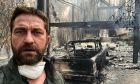 Φωτιά στην Καλιφόρνια: Ο Gerard Butler ανάμεσα στους πυρόπληκτους - Αποκαΐδια το σπίτι του