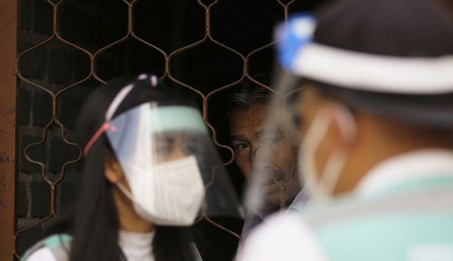 Ιατρικό προσωπικό στο Μεξικό