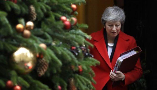 Η Βρετανή πρωθυπουργός, Τερέζα Μέι