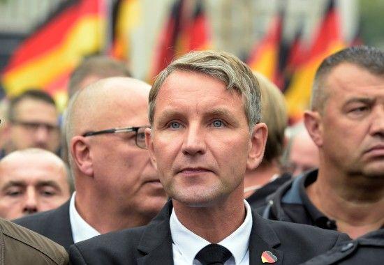 O επικεφαλής του AfD, Bjoern Hoecke