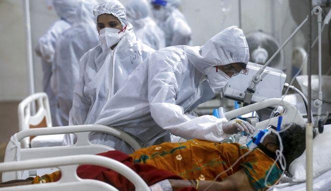 Σε νοσοκομείο της Ινδίας.