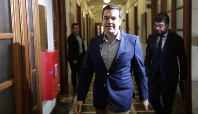 ΑΘΗΝΑ-Συνεδριάζει το Υπουργικό Συμβούλιο στο κτίριο της Βουλής,υπό την προεδρία του Πρωθυπουργού  Αλέξη Τσίπρα.(Eurokinissi-ΠΑΝΑΓΟΠΟΥΛΟΣ ΓΙΑΝΝΗΣ)