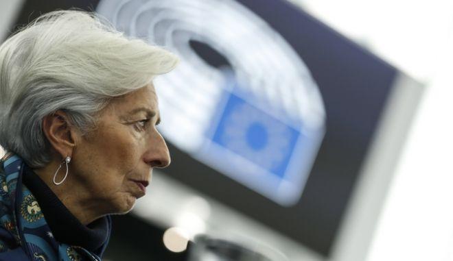 Η επικεφαλής της ΕΚΤ της Κριστίν Λαγκάρντ