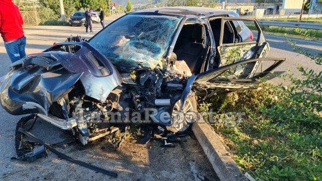 Λαμία: Μητροπολίτης τραυματίστηκε σοβαρά σε τροχαίο