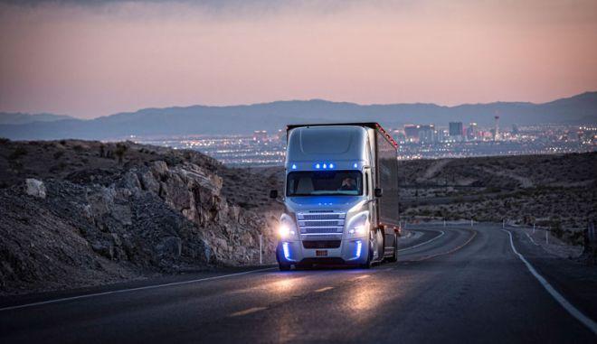 Στους δρόμους της Νεβάδα το πρώτο φορτηγό αυτόνομης οδήγησης, από την Daimler