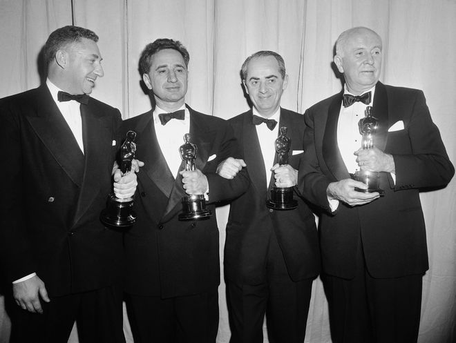 These four winners of  Oscars, all connected with