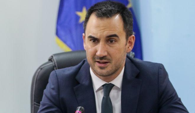 Ο Υπουργός Εσωτερικών, Αλέξης Χαρίτσης.