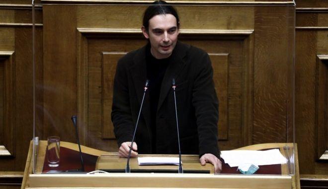 Ο βουλευτής του ΜεΡΑ25, Κρίτων Αρσένης