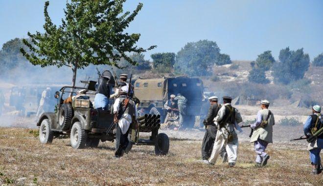 Αφγανοί μαχητές