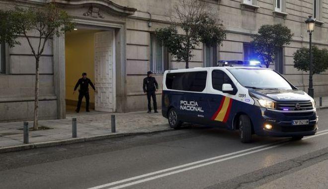 Oχημα της ισπανικής αστυνομίας