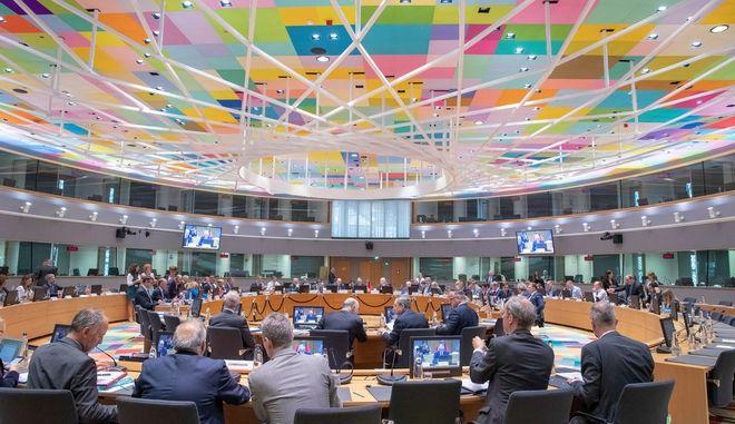 Συνεδρίαση του Eurogroup στις Βρυξέλλες