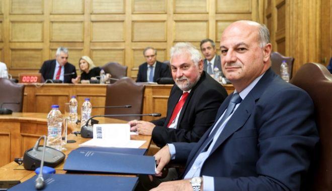 O Κώστας Τσιάρας στην επιτροπή