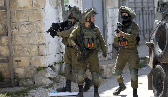 Ισραηλινοί στρατιώτες. Φωτό αρχείου.
