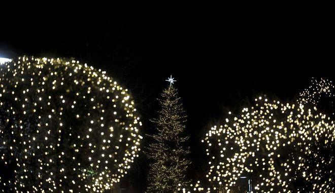Χριστουγεννιάτικος στολισμός (ΦΩΤΟ Αρχείου)