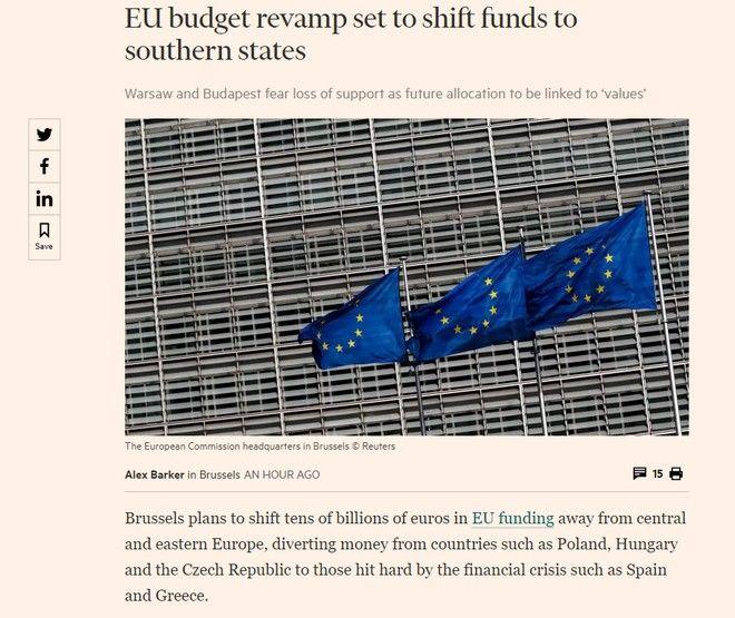 Το δημοσίευμα των Financial Times