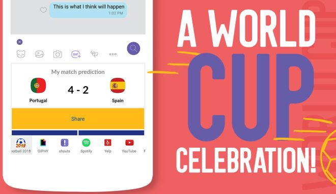 Zήστε τη γιορτή του Παγκοσμίου Κυπέλλου με τους μοναδικούς Πίνακες Κατάταξης των ομαδικών συνομιλίων στο Viber!