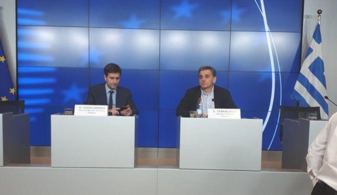 Τσακαλώτος: Η Ελλάδα γυρίζει σελίδα - Θα βγούμε με αυτοπεποίθηση στις αγορές