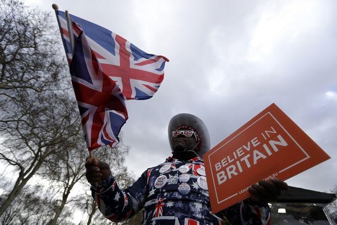 Διαμαρτυρία για το Brexit