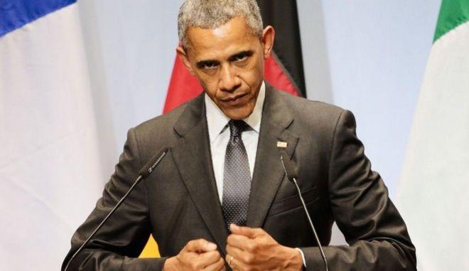 Ομπάμα: Η ελληνική κρίση έχει αμβλυνθεί