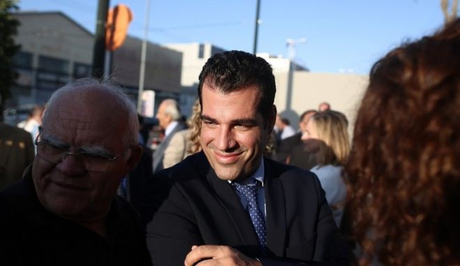 Opening of the new headquarters of conservative New Democracy opposition party on Pireos Street in Moschato on Oct. 4, 2016 /          4 , 2016