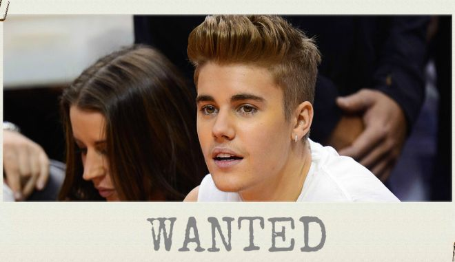 Bieber Alert: Καταζητούμενος της Ιντερπόλ ο διάσημος Καναδός τραγουδιστής