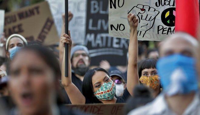 Διαδήλωση για τον Τζορτζ Φλόιντ στην Αριζόνα