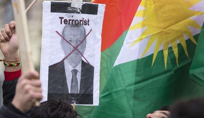 Διαδηλώσεις στη Γερμανία ενόψει της επίσκεψης Ερντογάν