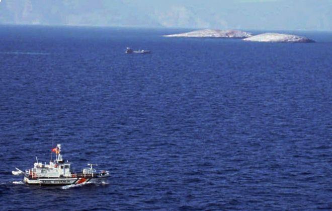 Ελληνικό και τουρκικό πλοίο αντιμέτωπα