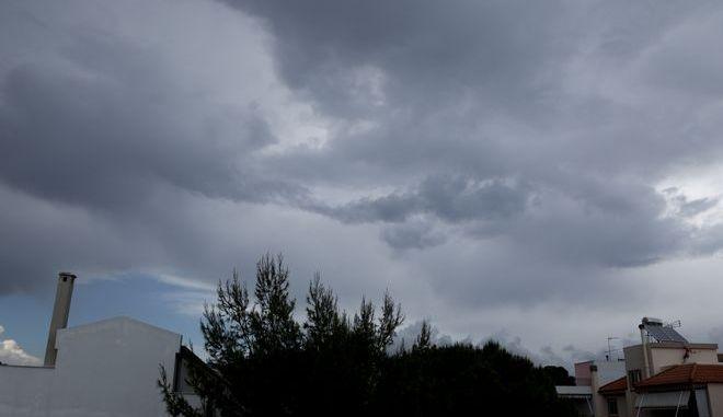 Κακοκαιρία με βροχή στην Αττική