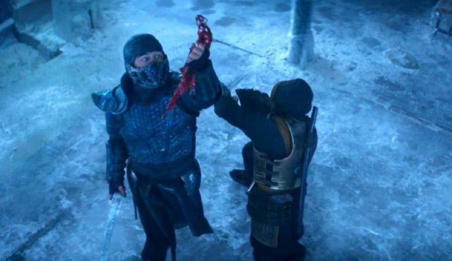 Mortal Kombat ταινία: Απόσπασμα από την επική μάχη Scorpion vs  Subzero