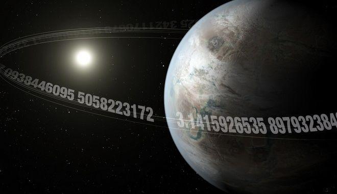 """Εντόπισαν εξωπλανήτη με μέγεθος σαν της Γης - Γιατί τον ονόμασαν """"Π"""""""