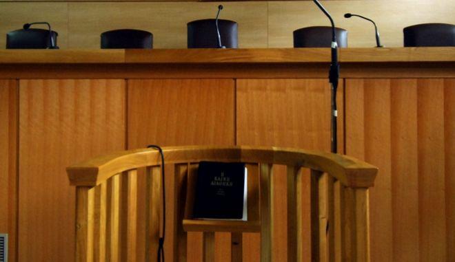Αίθουσα δικαστηρίου - Φωτογραφία αρχείου