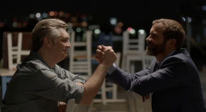 Ο Κωνσταντίνος Μαρκουλάκης και ο Άλκης Κούρκουλος στο τρέιλερ της επιστροφής του «Λόγω Τιμής» 22 χρόνια μετά