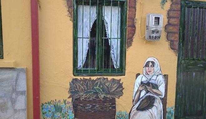 Χαλκιδική: Zωγραφική στις πλατείες κόντρα στην μουντάδα του lockdown