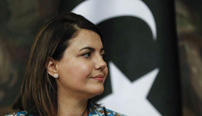 Η υπουργός Εξωτερικών της Λιβύης Νάιλα ελ Μανγκούς